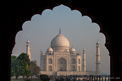 Scalloped View 2232 (Ursula in Aus - Away Travelling) Tags: india architecture arch tajmahal arches unesco archi earthasia