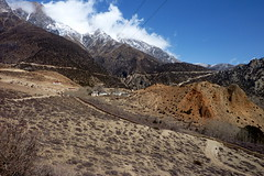 Das Drfchen Samar (Alfesto) Tags: nepal trekking himalaya samar chele syanboche uppermustang knigreichmustang