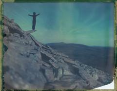 Lusen (Aus)Flug (Bastiank80) Tags: world camera wild color film analog giant polaroid living nationalpark being large human seeing instant 4x5 sheet format ausflug feeling expired wald ebony chantal 59 breathing bayerischer lusen bastiank pilsl sv45ti
