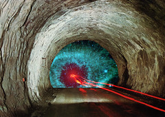 Tunnels_15 (3) Tags: travel collage digital vintage hole time space tunnel worm universe