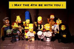 May the 4th be with you (Legoagogo) Tags: star lego bart homer wars marge chichester moc maythe4th legoagogo