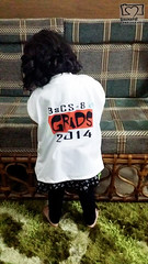 Little zaina in my Graduation TShirt (Zaina.Faraola) Tags: canon graduation tshirt niece zaina 60d