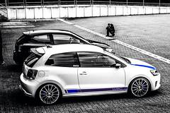 Polo WRC und Polo 6R GTI (BenniLüPix) Tags: vw volkswagen fotograf wrc autos gti blau flughafen polo schwarz