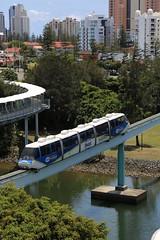 2012-11-23_1044-16-410 Monorail at Surfers Paradise (gunzel412) Tags: geotagged australia queensland aus broadbeach mermaidwaters geo:lat=2803107833 geo:lon=15342847500