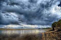 Zeya river bank