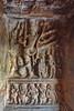 India - Karnataka - Badami Caves - Cave 2 - Vishnu As Trivikarma - 59 (asienman) Tags: india karnataka badami caves chalukyas architecture vatapi asienmanphotography vishnuastrivikarma