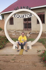 Same brother Nutzu sitting on Equator line