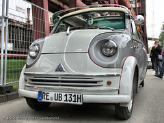Lloyd LT 600 - Essen Zeche Zollverein_0709_2014-04-06 (linie305) Tags: bus classic cars car essen 600 lloyd oldtimer minivan carshow lt zollverein zeche kleinbus oldtimertreff carmeeting lt600