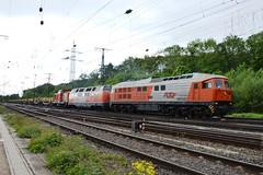230 077-0 RTS Rail Transport Service GmbH 221134-0 203 500 Kln-Gremberg 07.05.14 (Paul David Smith (Widnes Road)) Tags: rts 230 130 232 lud ludmilla baureihe br242 class242 class232 db232 railtransportservicegmbh dbagclass242