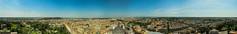 Rome panorama (BANANA KEFIR) Tags: italy panorama rome roma architecture landscape italia cityscape horizon stpeterssquare architettura paesaggio piazzasanpietro orizzonte 360degrees     paesaggiourbano 360gradi    360degreespanorama  320 panorama360gradi 360
