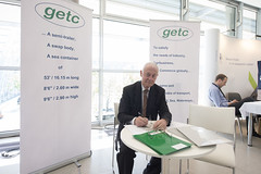Exhibitor at the getc Stand