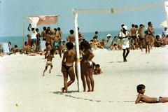 Rio013 Copacabana Beach Rio de Janeiro Brazil 1982 (photographer695) Tags: brazil beach rio de 1982 janeiro copacabana