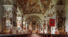 Interior monastery church (novofotoo) Tags: bayern deutschland oberbayern kloster fassade bayernbavaria raitenhaslach innenbereich