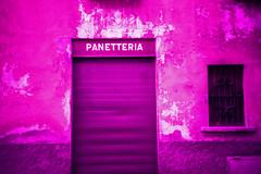 Panetteria (Markus Moning) Tags: door film wall facade analog 35mm schweiz switzerland tessin ticino lomo lca xpro lomography cross wand lofi x 64 bakery locarno tungsten process lc expired processed bckerei tre moning panetteria markusmoning