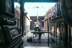Thin Hu Temple (rosaliliana) Tags: temple chinatown chinese vietnam saigon incense hochiminh incienso