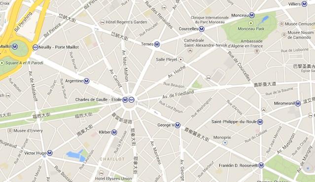 巴黎12條大街