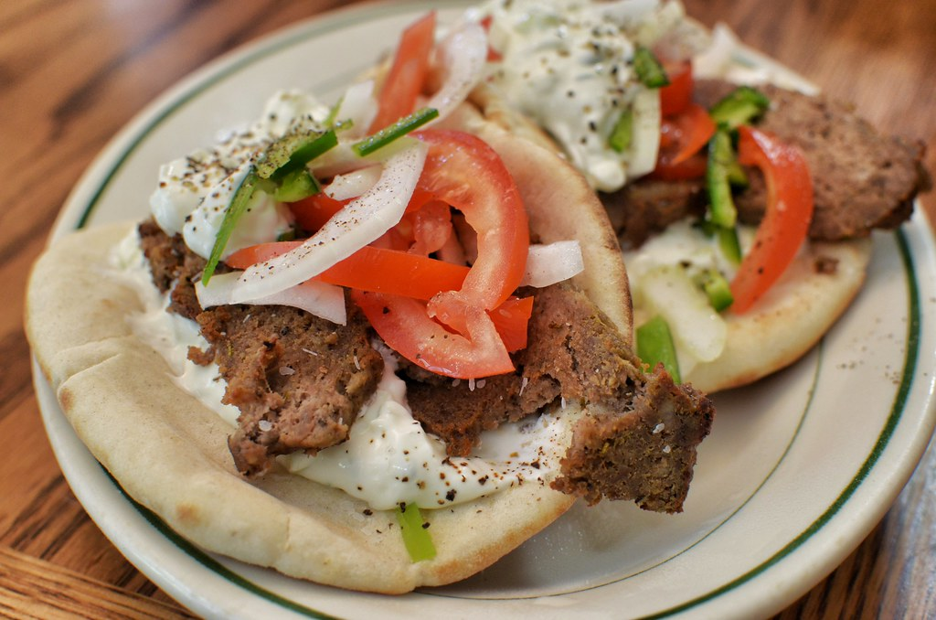 Mmm... gyros by jeffreyw, on Flickr