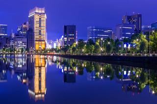 Symmetry, Tokyo in Blue