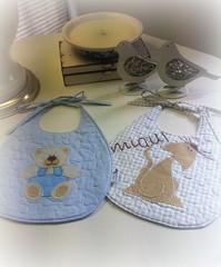 BaBaDoR (DoNa BoRbOlEtA. pAtCh) Tags: baby handmade application beb applique aplicao quiltlivre bordadomo donaborboletapatchwork denyfonseca