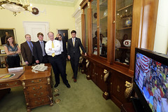 07-01-2014 Governor Bentley watches U.S. and Belgium in World Cup Soccer