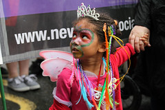 "Pride in London 2014 parade ""It's a bird....."" (Daves Portfolio) Tags: gay london girl angel costume pride regentstreet gaypride londonpride 2014 prideinlondon"