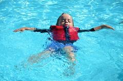 Everett Does A Back Float (Joe Shlabotnik) Tags: pool swimmingpool everett 2014 faved wstc justeverett june2014