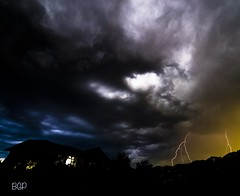 Fulmination (bengraingerphotography) Tags: light sky night dark landscape flash lightning loud thunder