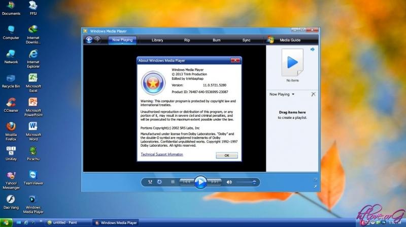 Bản Ghost Windows XP 2013 rút gọn siêu mượt mà ổn định