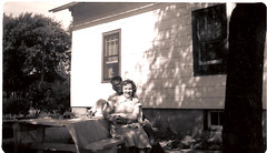 "summer 1948 Aunt Marie-s - Dad-s aunt • <a style=""font-size:0.8em;"" href=""http://www.flickr.com/photos/42153737@N06/14387789078/"" target=""_blank"">View on Flickr</a>"