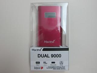 Mactrix Dual 9000 Portable Battery