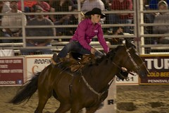 cowgirl barrel riding cowtown rodeo (Orest U) Tags: horse barrel riding rodeo cowgirl cowtown