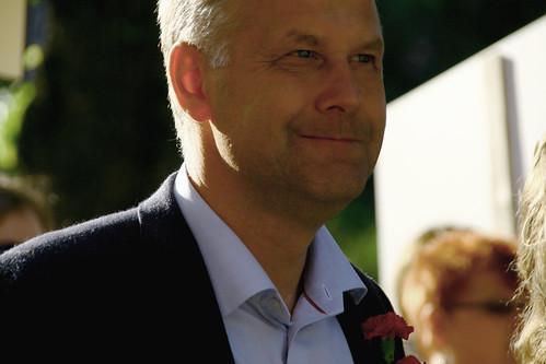 Parad Jonas Sjöstedt Nordiskt Forum