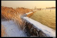 nEO_IMG__MG_8629 (c0466art) Tags: city trip morning travel trees winter light white lake snow cold reflection ice water beautiful weather sunrise wonderful season landscape photo amazing image north chinese east special area 2014 1dx  c0466art scenerycanon