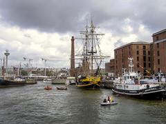 'Tall Ship's' Albert Dock, Liverpool. (grenvillelawrence) Tags: liverpool places grandturk tallships albertdock squarerigger 1262005