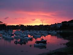 Anochece en Ploumanac'h (Patataasada) Tags: sunset france boats puerto atardecer puestadesol barcas francia bretaña ploumanach bretañafrancesa a3b bretraña