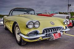 1959 Corvette (robtm2010) Tags: auto usa chevrolet car automobile massachusetts newengland vehicle corvette carshow vette 1959 customs basspro foxboro generalmotors customcars cruisenight gillettestadium bassprocruisenight