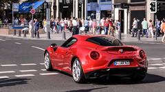 Alfa Romeo 4C (Shoarmapapa (Kevin Wellens)) Tags: cars car alfa romeo dusseldorf supercar supercars 4c konigsallee