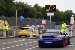 911 GT3 RS 997 (Cassio and Leo Magalhaes) Tags: blue azul race germany europe track 911 porsche circuit rs pista corrida alemanha gt3 997 nurburgring