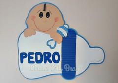Painel Bebê Mamadeira (lindas_artsbrasil) Tags: eva bebê decoração painel mamadeira chádebebê