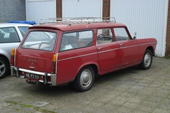 1969 Peugeot 404 Break (Skitmeister) Tags: auto holland classic netherlands car vintage automobile voiture oldtimer niederlande classique klassiker pkw машина klassieker авто carspot skitmeister ae9553
