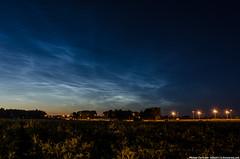 NLC 7/7/2014 Lesnye Polyany (mihail4115) Tags: summer sky nature night clouds river landscape russia nlc sity yaroslavl nightlandscape noctilucentclouds     fenomen   nightsity