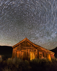 Star Trails over Bodie Jail (Jeff Sullivan (www.JeffSullivanPhotography.com)) Tags: california park travel copyright usa night canon photography star photo state united may trails sierra historic workshop 25 jail bodie states bridgeport eastern 2014 easternsierra jeffsullivan visitca visitcalifornia bdsh starstax visitmonocounty visiteasternsierra caliparks