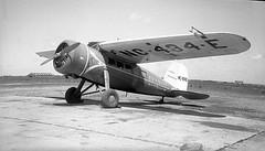 Chicago Municipal Airport - Braniff Airways - Lockheed Vega (twa1049g) Tags: chicago airport airways lockheed vega municipal braniff 1933 nc434e