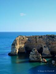 Marinha1 (CharlesM-2) Tags: sea summer beach portugal coast nikon caves algarve charlesm d7100 shadowpm2
