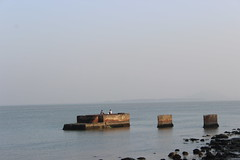 Two kids chilling (FoodNightStand) Tags: burma shore rakhine kaladan