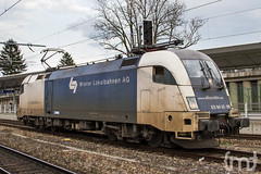 Dispolok @ VIE Meidling (feverpictures) Tags: vienna station train track siemens loco locomotive es taurus