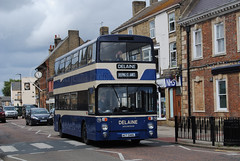 Delaine Buses of Bourne (Hesterjenna Photography) Tags: travel bus buses coach transport lincolnshire passengers bourne leyland psv delaine atlantean northerncounties servicebus act540l