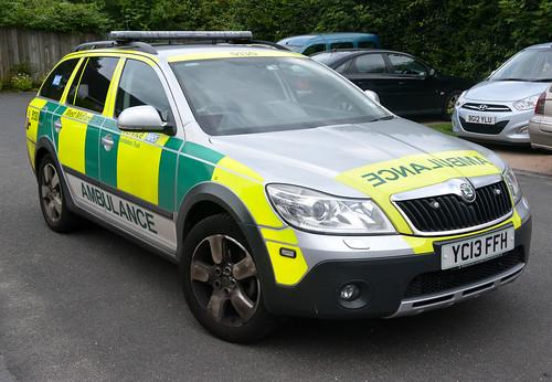 West  Midlands Ambulance Service - Ambulance 5130