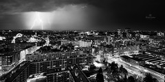 Black City (mickael.lootens) Tags: france lille thunder orage nord d800 paysagesennord