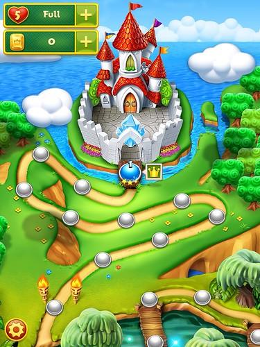 Charm King Level Selection: screenshots, UI